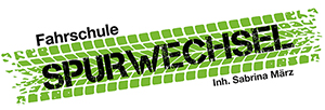 Fahrschule Spurwechsel Logo